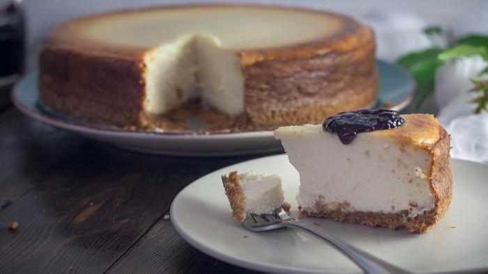 Japonský cheesecake so zlatou čokoládou