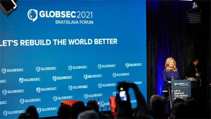 El Sumo Pontífice intervino en la conferencia Globsec 2021
