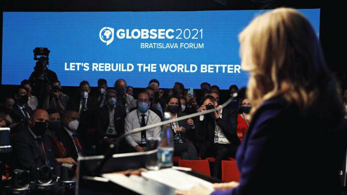 GLOBSEC: Pope against destruction of environment, Čaputová calls for respecting rules