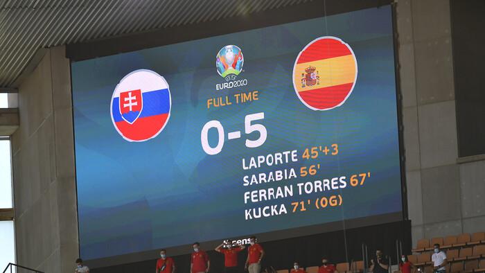 Debakel od Španielska, Slovensko sa rozlúčilo s EURO 2020