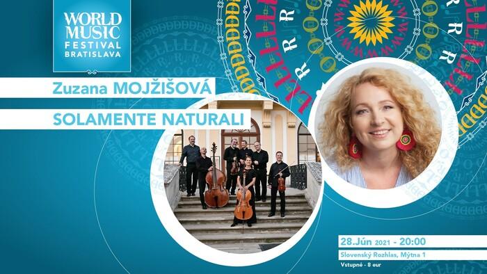 World Music Festival: Zuzana Mojžišová a Solamente Naturali