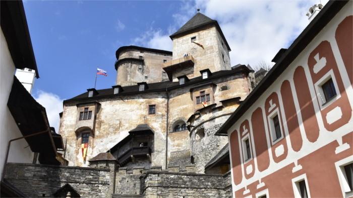 В Оравском Подзамке восстановили здание эпохи Ренессанса