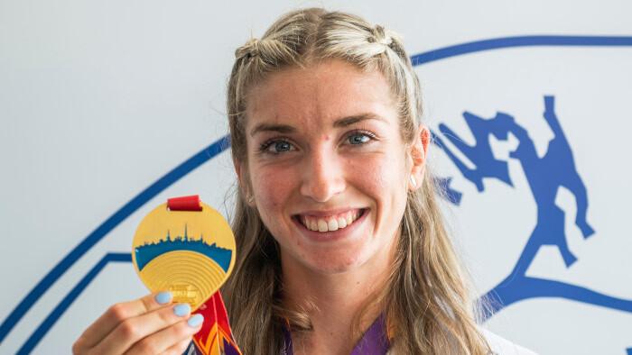 Slovak sprinter Zapletalová won gold at U23 Euro championship