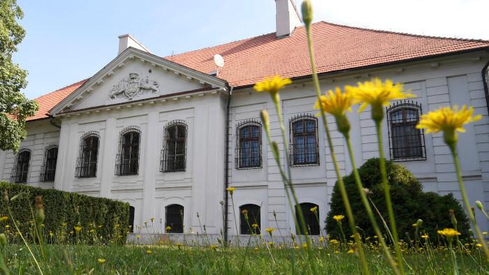 Na návšteve v kaštieli v Budimíre