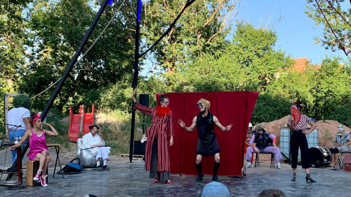 Grand retour du cirque d'avant-garde à Bratislava