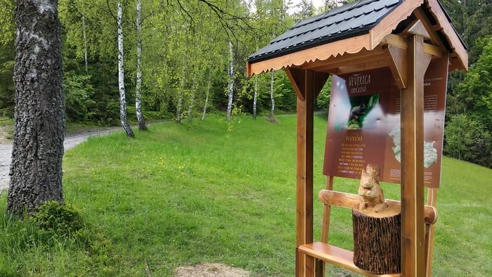 Nová oddychová zóna v obci Korňa