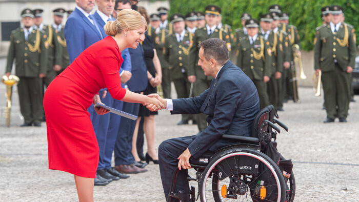 Slovak athletes make solemn vow before President ahead of upcoming Olympics