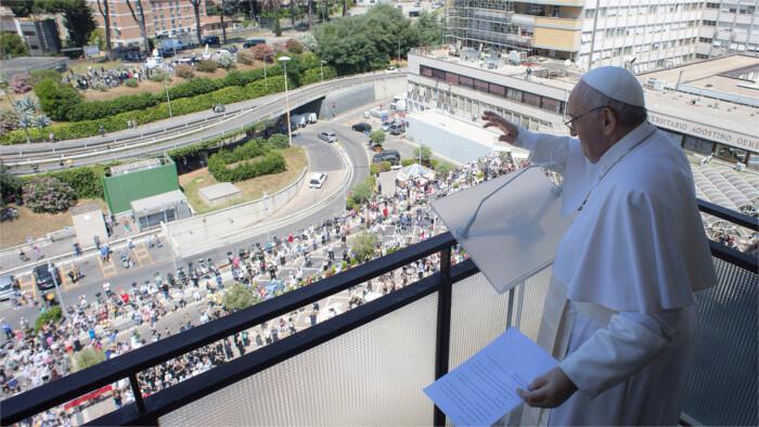 Nur Vollgeimpfte dürfen am Treffen mit Papst teilnehmen