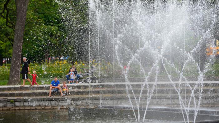 Первая половина лета была самой теплой со второй половины ХХ в.
