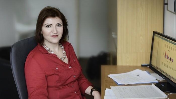 Epidemiologička Alexandra Bražinová v Ráne na eFeMku