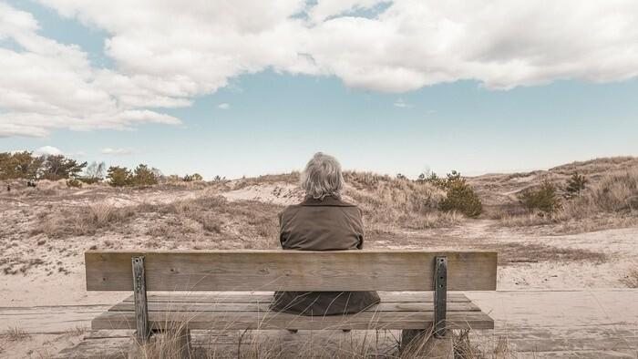 Zamyslenie / Dôchodok
