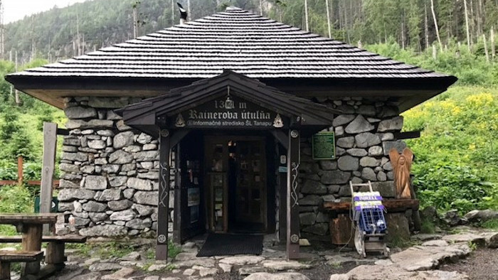 Rainerova útulňa: Die älteste Hütte in der Hohen Tatra