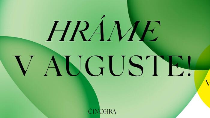 Nová sezóna v Činohre SND sa začína už v auguste