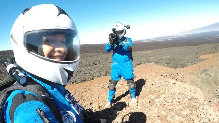 Michaela Musilová slovenská žena z Marsu snáď obletí Mesiac
