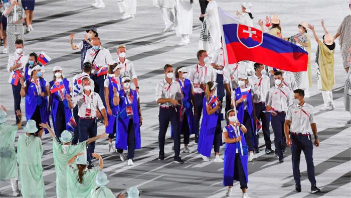 41 athlètes slovaques à Tokyo