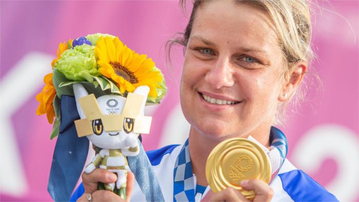 Juegos Olímpicos de Tokio 2020/2021: Zuzana Rehák Štefečeková estableció un nuevo récord mundial de tiro y ganó el primer oro es
