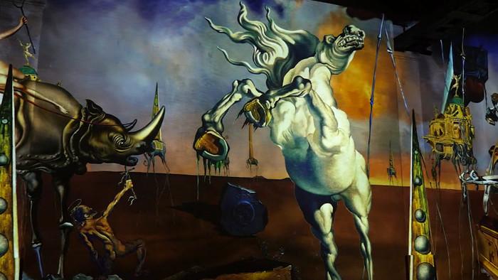 Recenzia výstavy: Dalí, l'énigme sans fin v Paríži