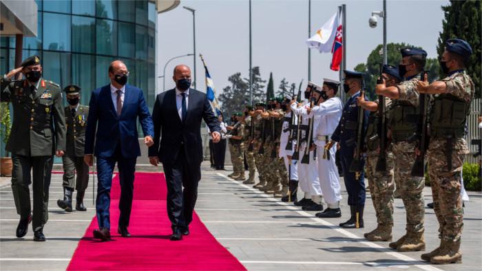 El ministro de Defensa visitará a los militares eslovacos que operan en la misión UNFICYP