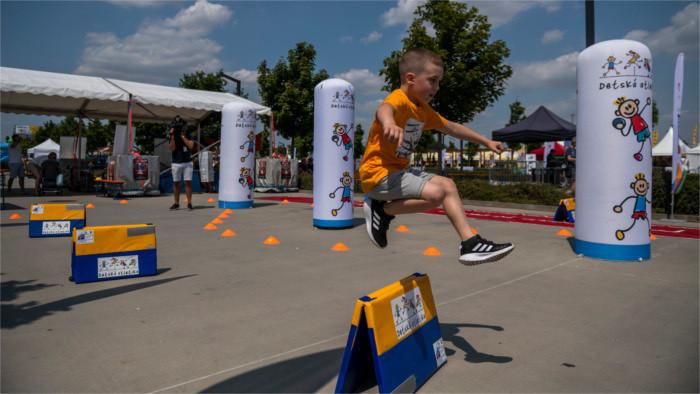 Olympia-Festival: Kinder sollen Spaß am Sport haben