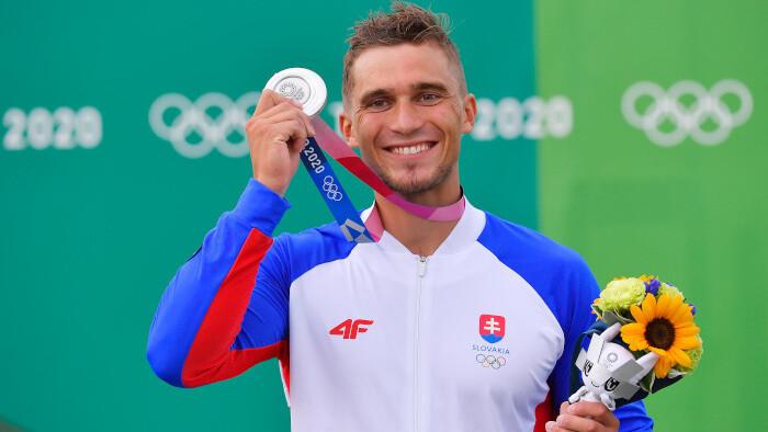 Серебряная медаль у Якуба Григара