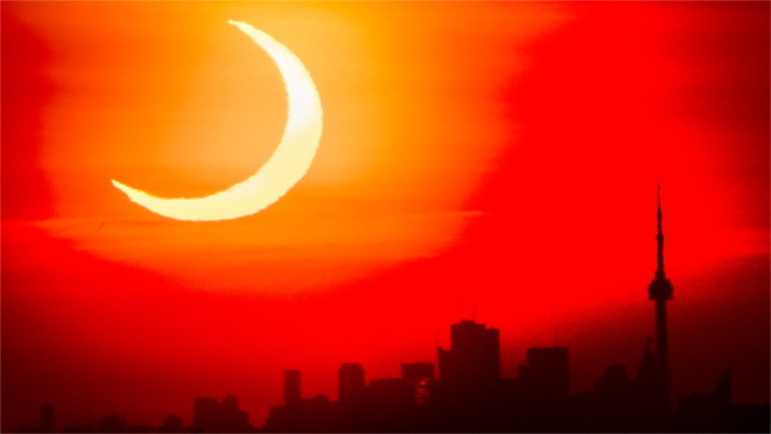 Why there's a 'ring of fire' around an 'annular' solar eclipse