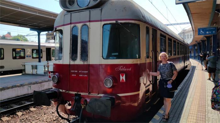 Путешествие по Трнавскому краю на историческом локомотиве «Палффи»