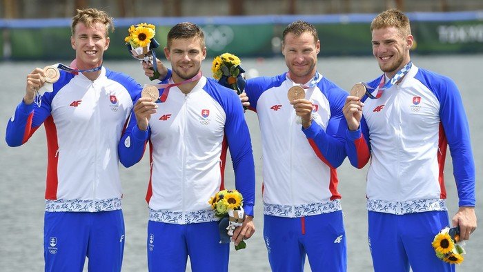 Štvorkajak získal bronz. Slovensko má z OH už štvrtú medailu