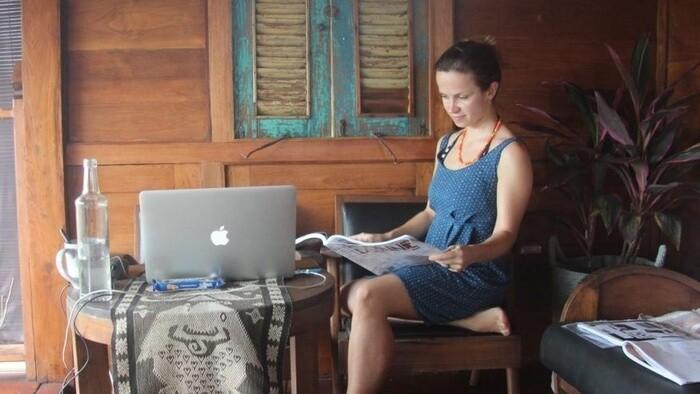 Digitálna nomádka Silvia Púchovská v Ráne na eFeMku