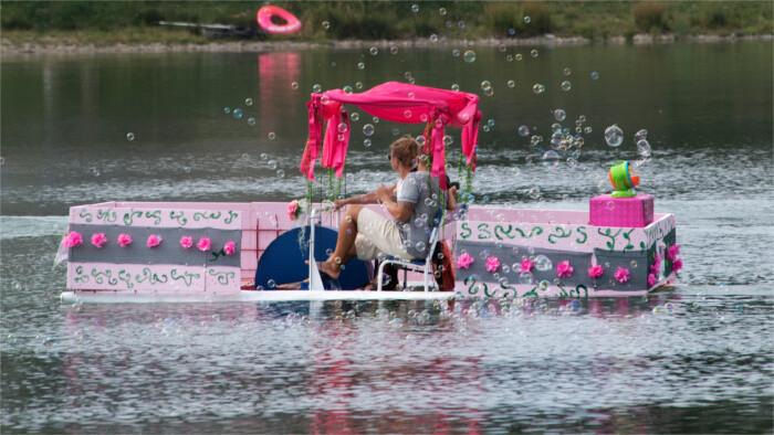 На «Волнах фантазии» - в Братиславе пройдет гонка необычных лодок