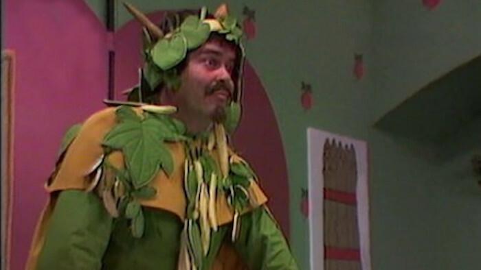 Zeleň kráľ
