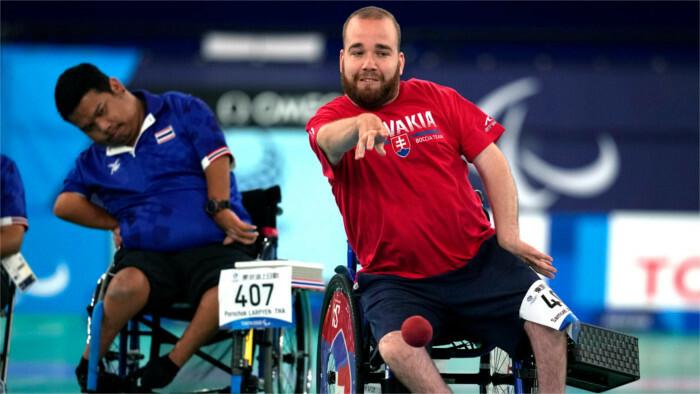 2020 Paralympics: Samuel Andrejčík wins gold in boccia