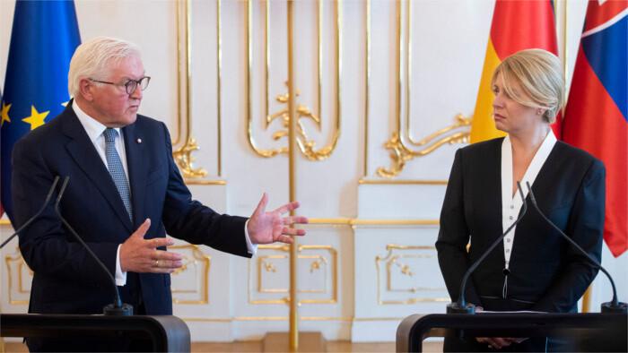 Deutscher Bundespräsident auf Slowakei-Besuch