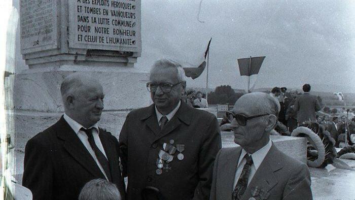 Commémoration à Strečno