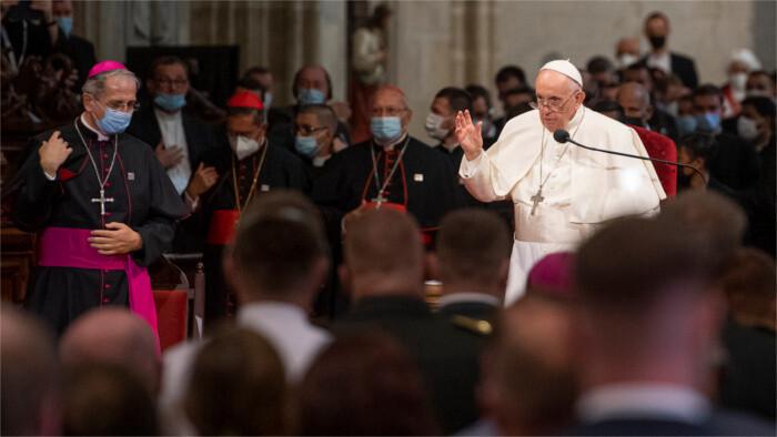 Segundo día de visita apostólica del Papa a Eslovaquia