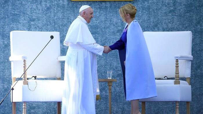 Pápež František na Slovensku. Pondelňajší program vysielania RTVS