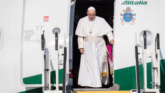 Pápež František na návšteve Slovenska