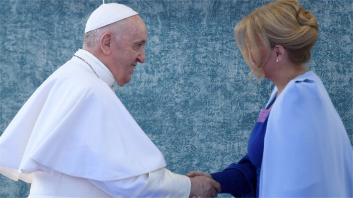 Pope Francis: Slovakia predestined to be messenger of peace