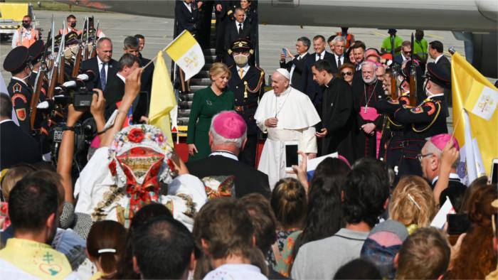 Как Словакия встретила Папу Римского