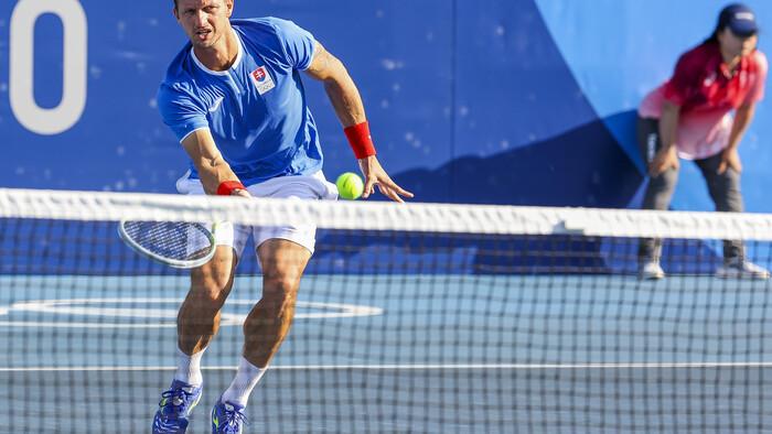 Tenis: Filip Polášek pred zápasom s Čile