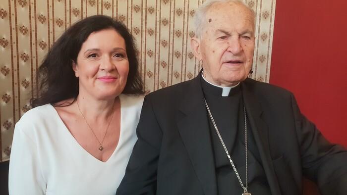 Hosť sviatočného Dobrého rána / Jozef Tomko - kardinál
