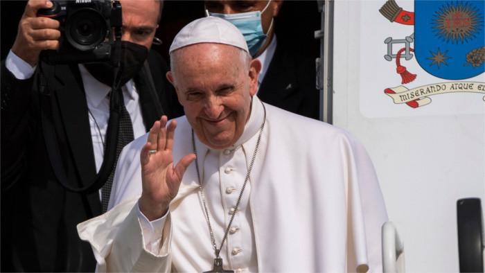 El Sumo Pontífice consiguió unir a los políticos con los eclesiásticos