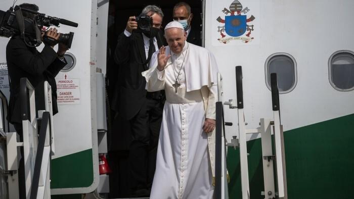 Papst Franziskus beendet Slowakei-Besuch