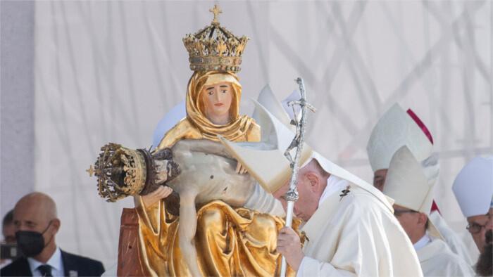 Fin de la visite pastorale du Pape François en Slovaquie