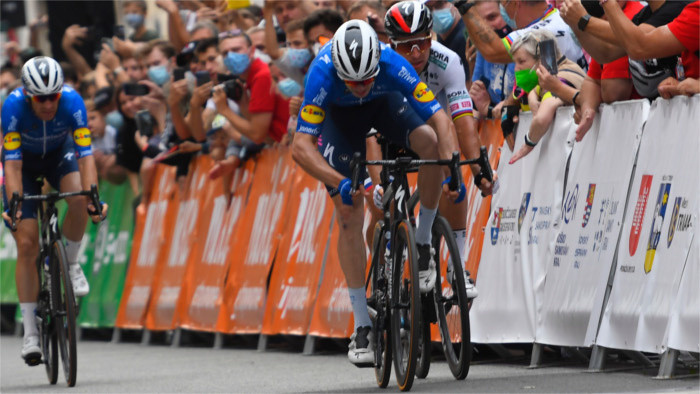 П. Саган в гонке «Вокруг Словакии» пока второй