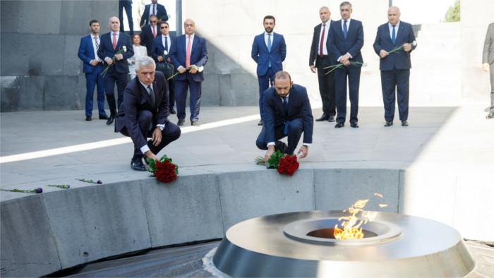 Глава МИДа СР И. Корчок побывал с рабочими визитами в Ереване и Кишиневе