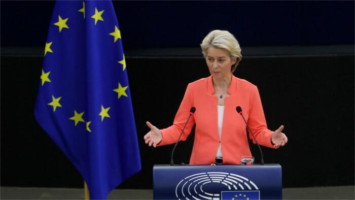 Ursula von der Leyen presenta informe sobre el estado de la Unión Europea