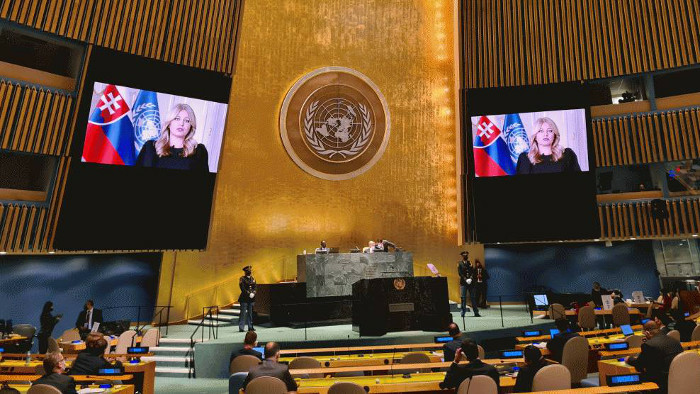 Caputova in UN: Fight against climate change needs to shift to higher gear