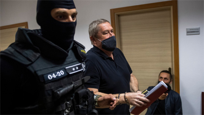 Former Special Prosecutor sentenced to 14 years in jail