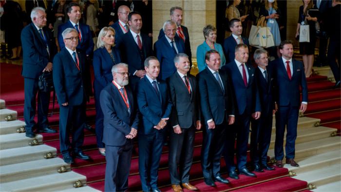 Спикеры парламентов стран Юговосточной Европы и В4 собрались в Будапеште.