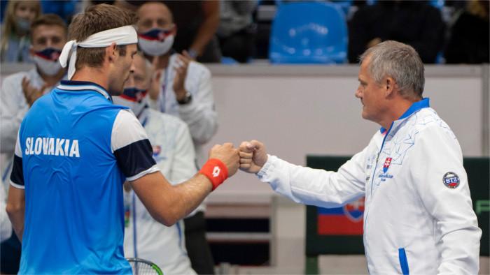 Кубок Дэвиса: словацкие теннисисты сделали важный шаг на пути к Мадриду.